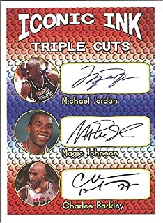 charles barkley autograph card