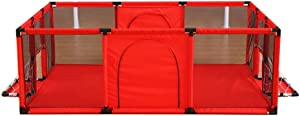 L TSA Baby Playpen  Indoor and Outdoor Baby Crawling Toddler Fence  Child Safety Playard  180x120x62cm