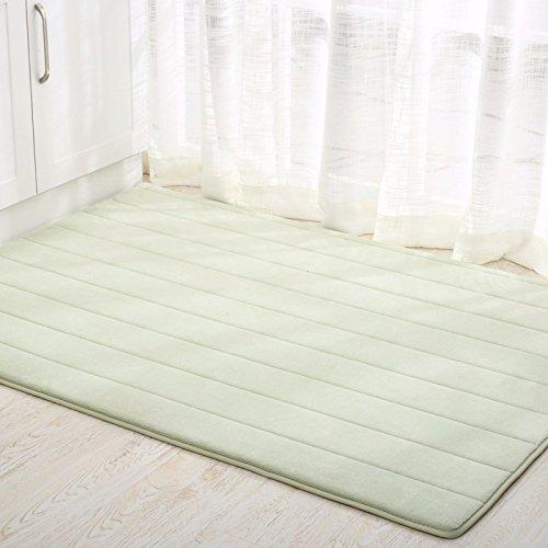 LIUXINDA-DT fußabtreter Matte Matte Hall zu Hause tür Haushalt EAU de Toilette badematte Teppich 50 * 90cm,grüne