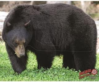 Dura Mesh Archery Bear Target, Black, 25