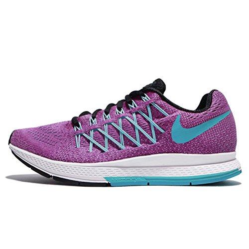 Nike WMNS Air Zoom Pegasus 32, Scarpe da corsa Donna, Viola (Morado (Hyper Violet/Gmm Bl-White-Blk), 36 EU