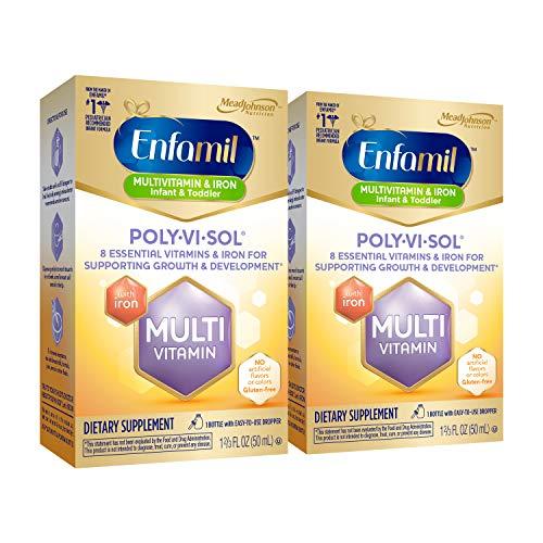 Enfamil Prenatals & Baby Vitamin Poly-Vi-Sol with Iron Multivitamin...