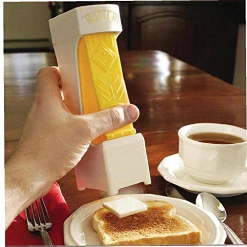 Angoter 1PCS-Stick Butterschneider Butter Scheiben Convenient Stores Butter Schnitzler Schokolade Küchenwerkzeuge Butter Slicer