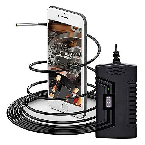 DDENDOCAM Cámara endoscopio 3.9mm, 1080P HD WiFi Endoscopio Inspección de Tuberías de Serpiente, Boroscopio para iPhone y Android phone Tablet