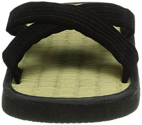 DEPICE Schuhe Zoris Mattensandalen Reisstroh - Prenda, Color marrón, Talla 42