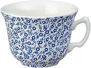 Burleigh Bleu Regal Paon Tasse de th/é et soucoupe 0.2/litre