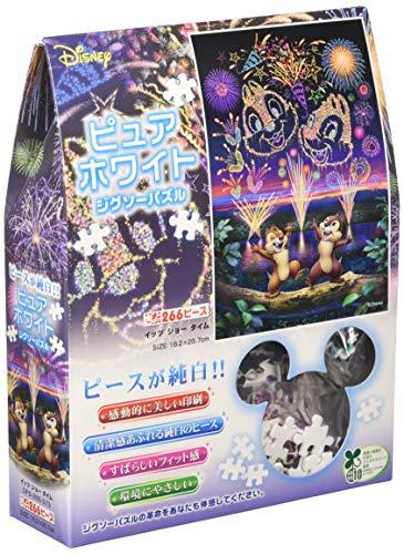 266ピース ジグソーパズル ディズニー イッツショータイム ぎゅっとシリーズ 【ピュアホワイト】(18.2x25.7cm)