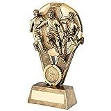 Brz/oro macho futbolista Multi de pelota trofeo (1in Centre)–6in