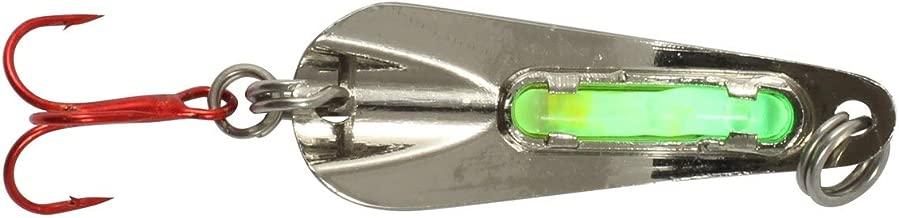 Northland Tackle GSS4-11 O-Shot Spoon Bait, Metallic Silver, 1/4 oz