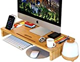 ROYAL CRAFT WOOD Computer Monitor Stand Riser - Laptop Stand and Desk Organizer...