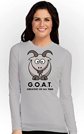 Art Gallery Misr Printed The G.O.A.T Lady T-Shirt Long Sleeve