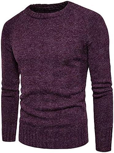 Jdfosvm Un Hiver, Les t - Shirt Pull Morceau branlant Pull Pour des hommes Chandail à col roulé,Un Bordeaux,l