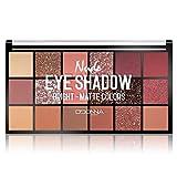 Palette Ombres Paupières Nude - Mat & Brillant Fard à paupière - Maquillage des yeux ︎123 Cosmé