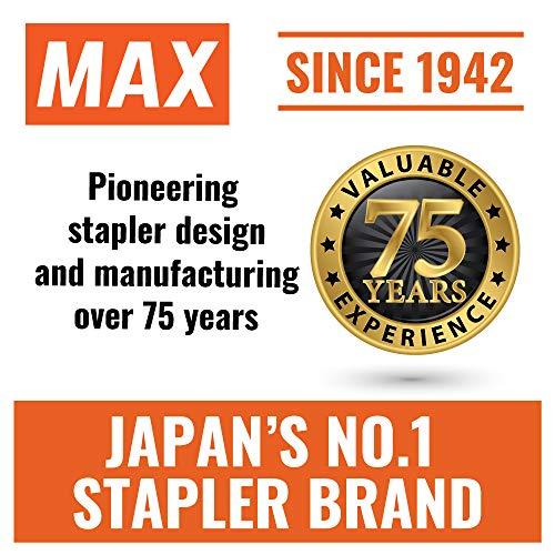 Max Flat-Clinch Black Standard Stapler with 30 Sheet Capacity (HD-50DFBK) Photo #3