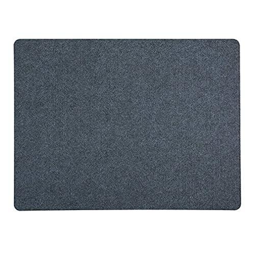 LLZX Selbstklebende rutschfeste PVC-Stuhlmatte und Bodenmatte Stumme SchallabsorptionsmatteDunkelgrau90 * 120 cm