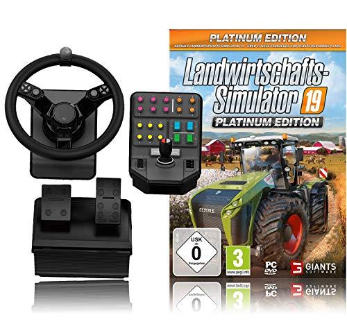 Logitech G Saitek Farm Sim Controller, PC/Mac/PS4 + Landwirtschafts-Simulator 19 PS4