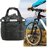 Bicicleta Basketcle Bicycle Detachable Front Pet Carrier De Capacitación Bolsa Delantera Bicicleta Extraíble Cesta De Manillar para Ciclismo Picnic Shopping