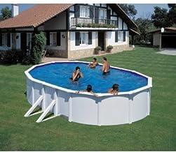 FEELING 610 x 375 x 120 cm pool-juego de madera-con muchos accesorios de la piscina-temporada