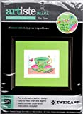 Artiste Mini Tea Time Counted Cross Stitch Kit Finished Size 4.88' by 7.13'