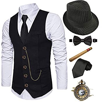 Best 1920s gangster outfit Reviews