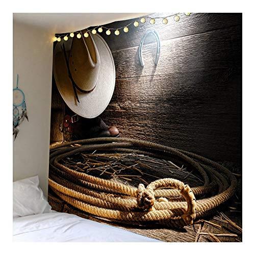 Jue Tapiz de Pared de Tela colgados de la Pared del hogar del Arte de la tapicería for el Dormitorio Living Dormitorio de Pared Tapices décoración zxy (Color : A, Size : 150 * 210cm)