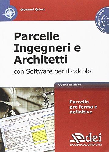 Parcelle ingegneri e architetti. Con software