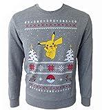 Pokemon Chistmas Pikachu Weihnachtspullover