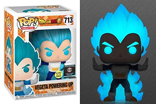Funko Pop! Animation Dragonball Vegeta Powering Up Glow in Dark Exclusive #713