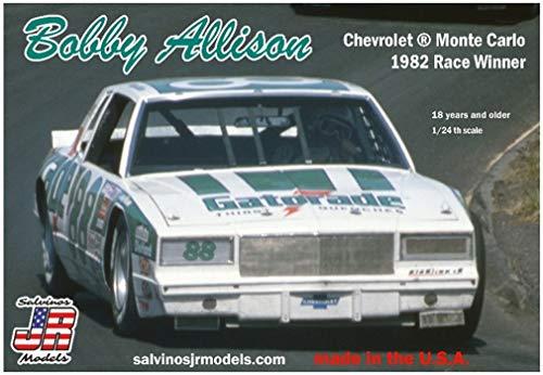 Salvinos JR Models Bobby Allison car Monte Carlo 1982 Race Winner Plastic Model Kit