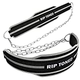 Rip Toned Dip Belt with Chain | Built for Pullups,...