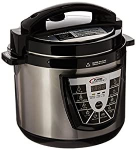 Power Pressure Cooker XL 6 Quart - Silver