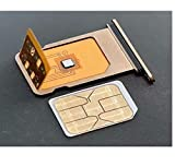 Nik case Carrier Unlock Chip for iPhone XR to 12 Pro Max (D Gold) i phone 6 holder Apr, 2021