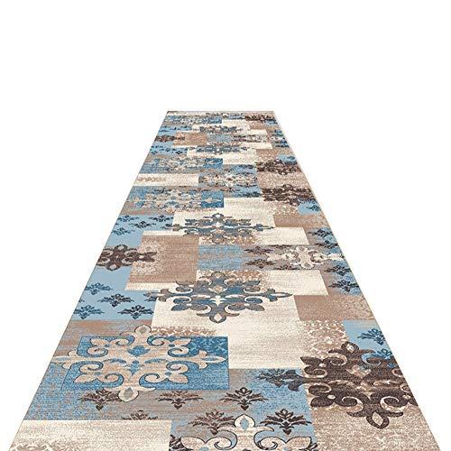 GUORRUI-tappeto passatoia per corridoio Stampa Corridoio Corridoio Camera da Letto Entrata Hotel Pelle-Amichevole Traspirante Lavabile, Supporta La Personalizzazione