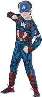 Regina 109008.9, Fantasia Avengers Capitão América Clássica Longa, Multicor