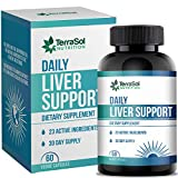 Liver Support and Cleanse Supplement | Liver Support Supplement for Fatty Liver | Liver Detox Cleanse & Repair | 60 Capsules