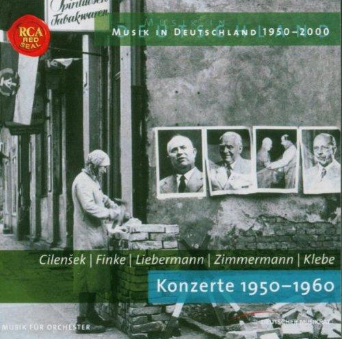 Musik in Deutschland 1950-2000. Konzerte 1950-1960