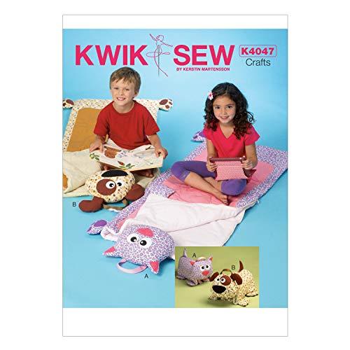KWIK-SEW PATTERNS englisches Schnittmuster KwikSew 4047 Kinder-Schlafsack 61x132cm