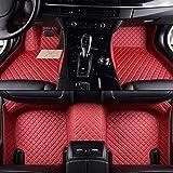 GLLXPZ Alfombrillas de Coche Personalizadas, para Volvo V50 V40 V70 V60 XC90 XC60 S80 S60 S40 2010-2020, Alfombrillas Antideslizantes con Revestimiento Completo