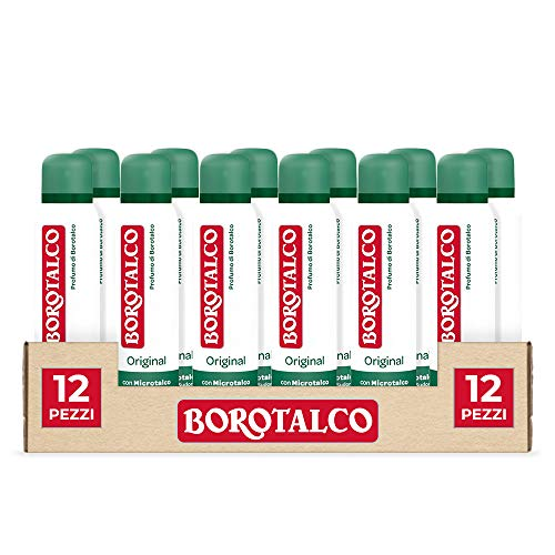 Borotalco Spray Original, 12 Pezzi x 150 ml
