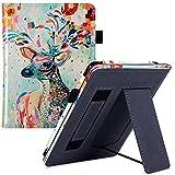 AIYIGEYALI e-Book - Funda para Kindle Paperwhite 6ª y 7ª generación (2012/2013/2015/2017), color blanco