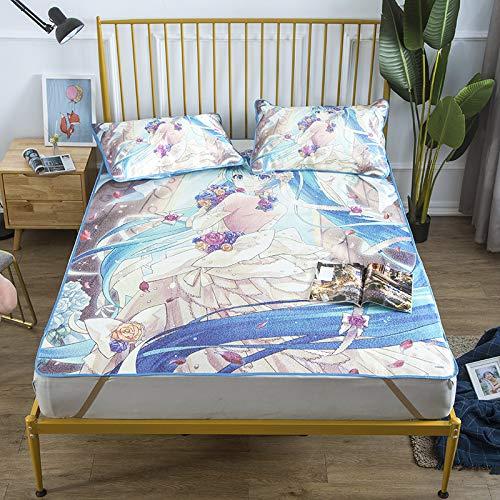 Hllhpc Ins mat ijs zijde mat student slaapzaal eenpersoons bed