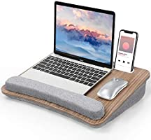 Plateau Pour Ordinateur Portable Furminics avec Coussin, Support de Tablette et Poche de Rangement, pour Lits, Canapés et...