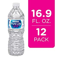 New look, same 100 Percent pure quality water .5 liter / 16.9 ounce easy to grip, resealable plastic bottled water that's perfect for lunch, or to bring to work or class 12 pack to keep at home or the office to promote healthy hydration With no calor...