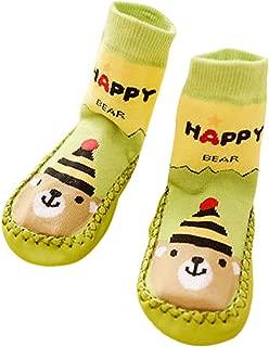 1 St/ücke Infant Boden Socken Baby M/ädchen Jungen Streifen Komfortable Socken Rutschfeste Slipper Socken Huhu833 Baby Socken