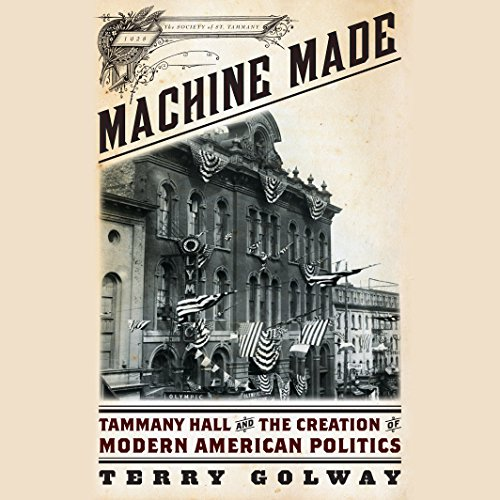 Machine Made audiobook cover art