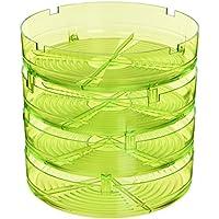 Geo Geo Plus  - Germinador, 20.5 x 20.5 x 23 cm, color verde