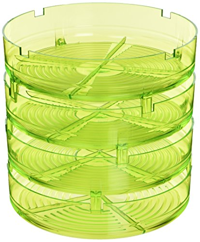 Geo Plus Germoir sans BPA, Vert, 20,5 x 20,5 x 23 cm