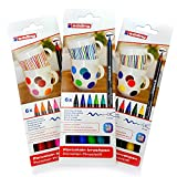 edding Porzellan-Pinselstift edding 4200, 1 - 4 mm | sortiert in verschiedenen Farben zur Auswahl...