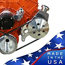 Chevy Small Block Power Steering Bracket - Electric or Long Water Pump