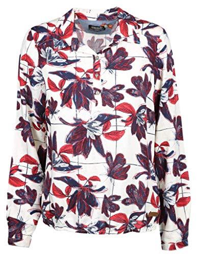 soquesto Damen Bluse Größe 36 EU Weiß (weiß)